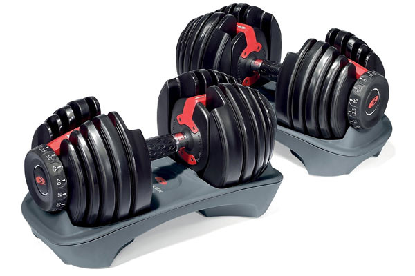 birthday gifts for husband from wife bowflex dumbells