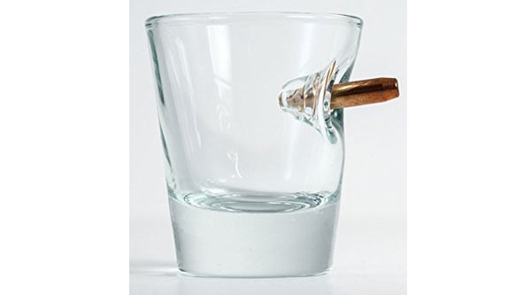 cheap birthday gifts for him bullet shot glass