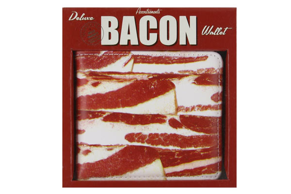 creative gift ideas for husband birthday bacon wallet