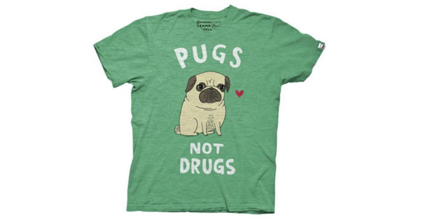 Cute Birthday Gifts For Boyfriend Pug T Shirt