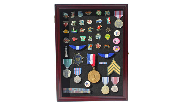 navy retirement gifts cabinel medal display