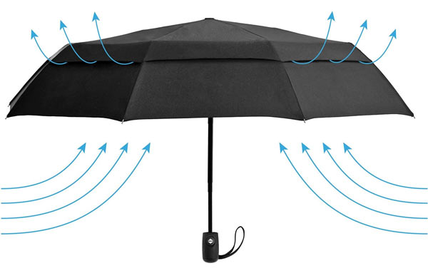 nice gifts for men windproof umbrella