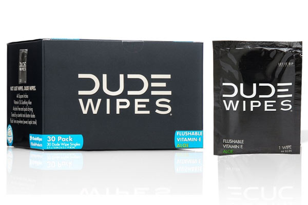 quirky gifts for husband dude wipes