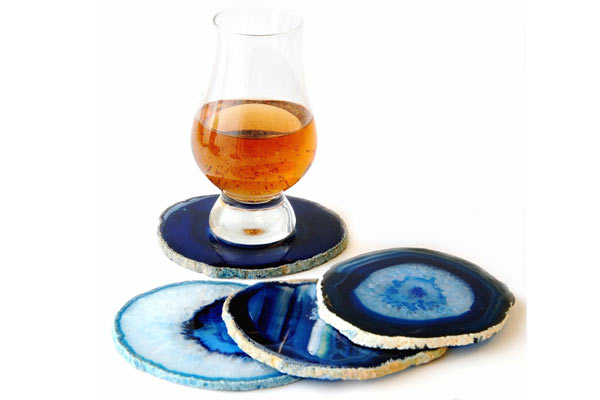 unique birthday gifts for husband agate coaster