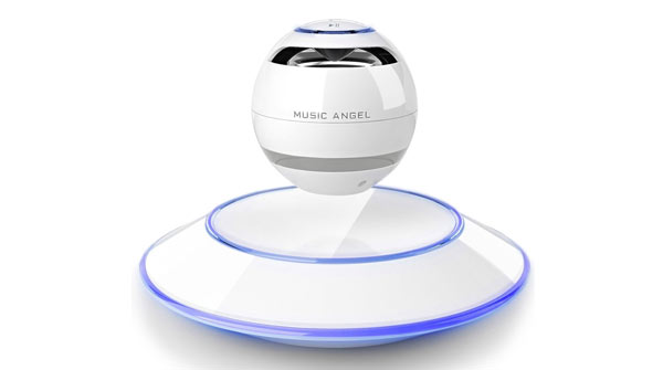 unusual gifts for him levitating speaker