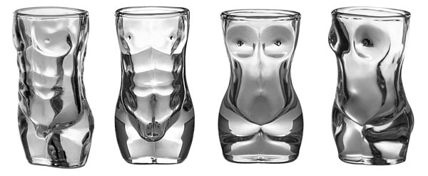Whiskey Glass Gift Set sexy shot glasses