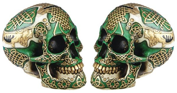 cool gifts for guys under 30 skull figurine