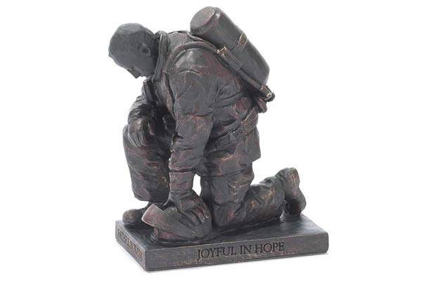 firefighter gifts for men figurine