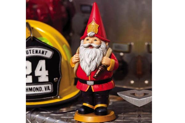 firefighter gifts for men gnome