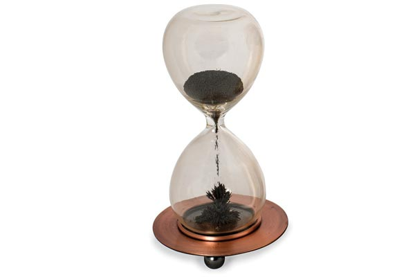 fun gifts for him magnetic sand timer