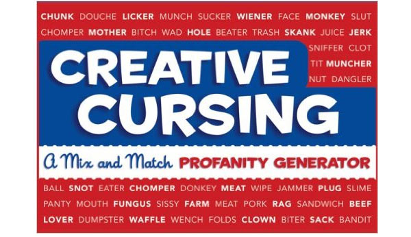funny gifts for guys creative cursing