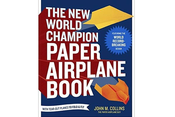 gifts for airplane lovers airplane fold book