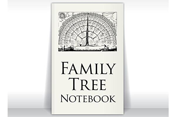 gifts for genealogist family tree notebook