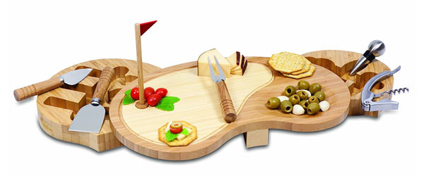 golf gifts for him golf cheese board