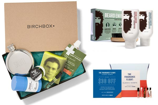 monthly gift subscriptions for men birchbox