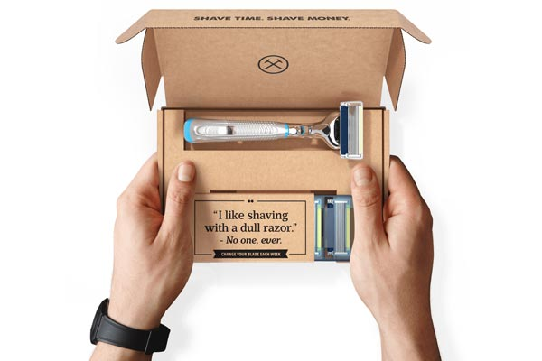 monthly gift subscriptions for men dollar shave club
