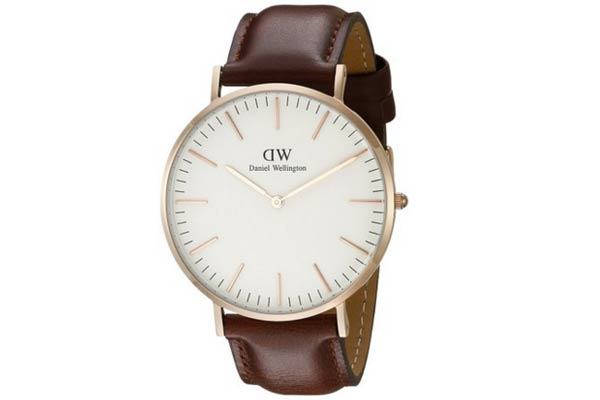 perfect gifts for guys daniel wellington watch