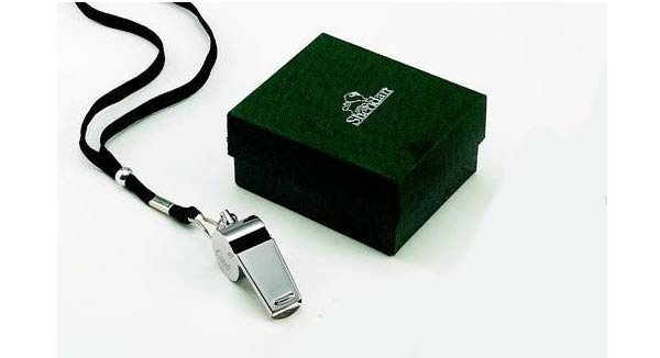 presents for coaches personalised whistle