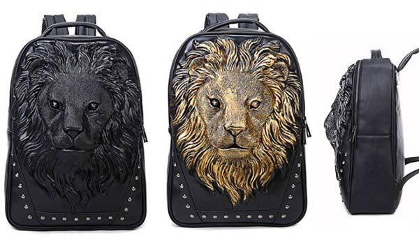stylish gifts for him backpack lion