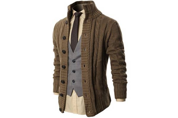 stylish gifts for him cardigan