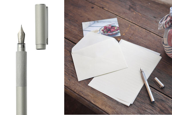 affordable gifts for him muji fountain pen