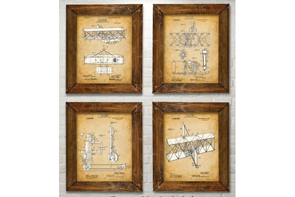 christmas gifts for airplane lovers prints
