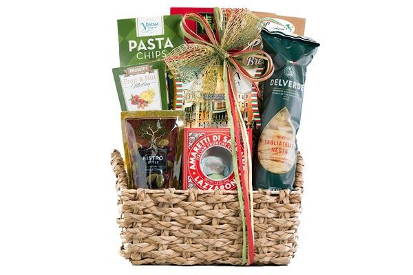 gift baskets for men italian theme basket
