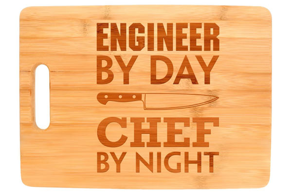 gifts for civil engineers cutting board