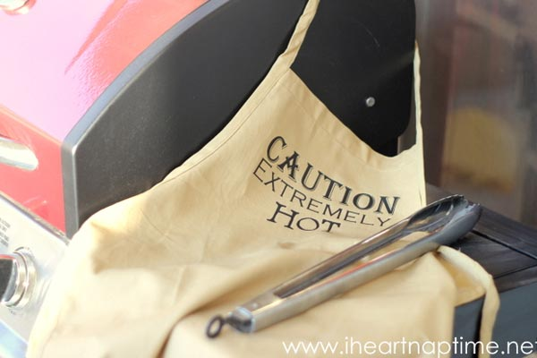 handmade gift ideas for him apron