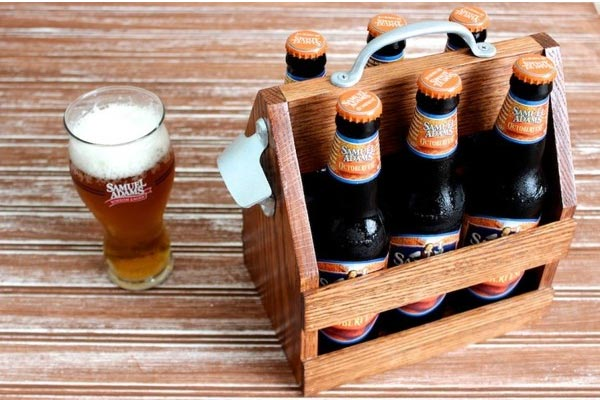 handmade gift ideas for him beer tote