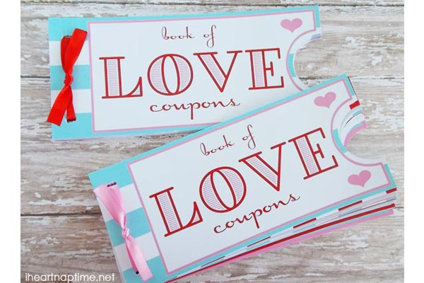 handmade gifts for husband birthday love coupon