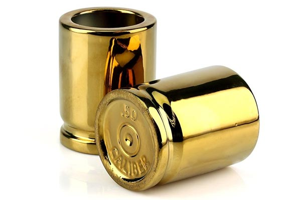 whisky gifts for him bullet shape shot glass