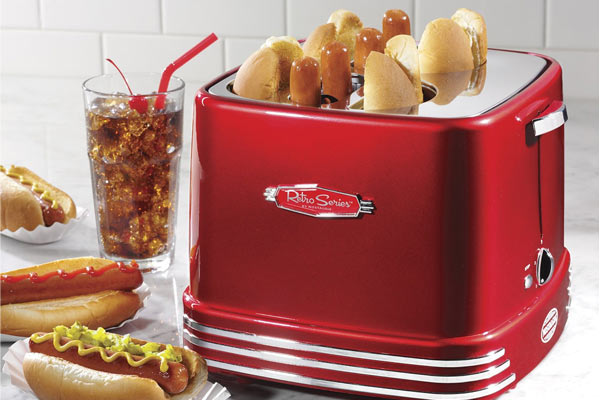 Christmas gift ideas for boyfriend hot dog toaster