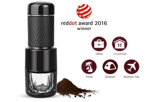 holiday gift guide for men portable coffee maker