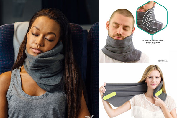 simple gifts for him travel neck support