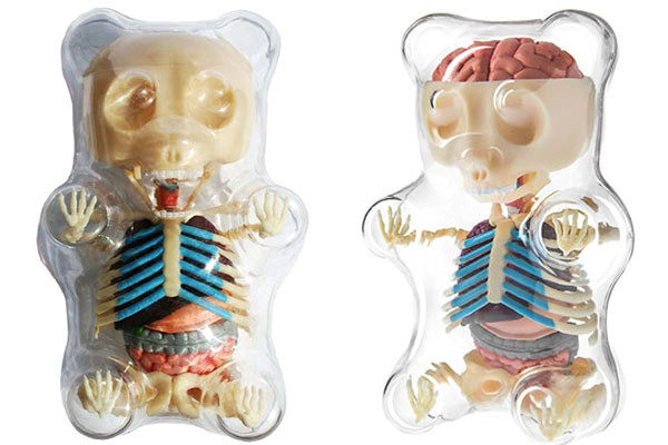 top presents for men gummi bear skeleton
