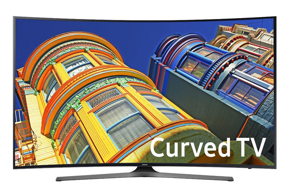 anniversary gift for husband curved TV