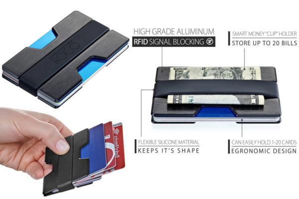 best mens wallet aluminium wallet