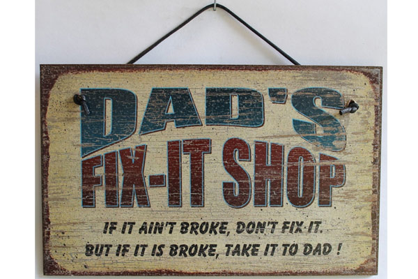 dad birthday gifts dad sign