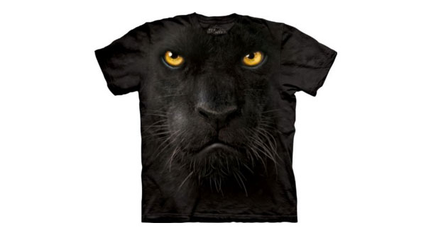 men t shirts panther t-shirt