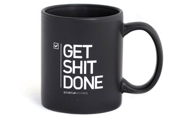 small gift ideas for coworkers get shit done mug