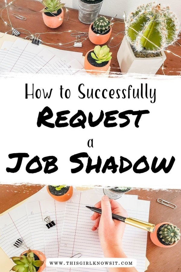A job shadow can be hugely beneficial to students and can save you time, money, and stress throughout your school career. But do you know how to find and request one? Check out this post on how to successfully request a job shadow! #college #university #career #job