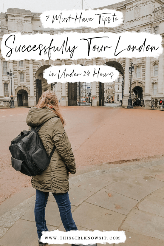 7 Must-Have Tips to Successfully Tour London in Under 24 Hours | Seeing London in less than 24 hours can be tough, especially during the Christmas crowds! That's why I have put together a guide on the 7 things I did so that I could successfully tour London in less than 24 hours. | This Girl Knows It | www.thisgirlknowsit.com