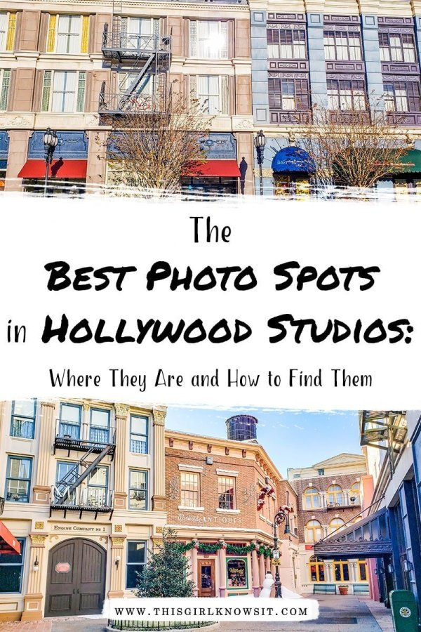 Hollywood Studios park puts you in the middle of the movie action, and with so many themed areas to choose from, it makes the perfect place for a photo shoot. This Instagram Guide shows you around Hollywood Studios for the best photos. Click here for the full guide! #hollywoodstudios #disney #disneypark #florida