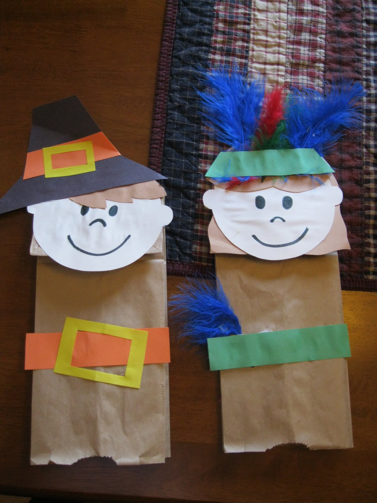 Thanksgiving Pilgrim Crafts