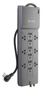 Belkin BE112230-08 12-Outlet Surge Protector
