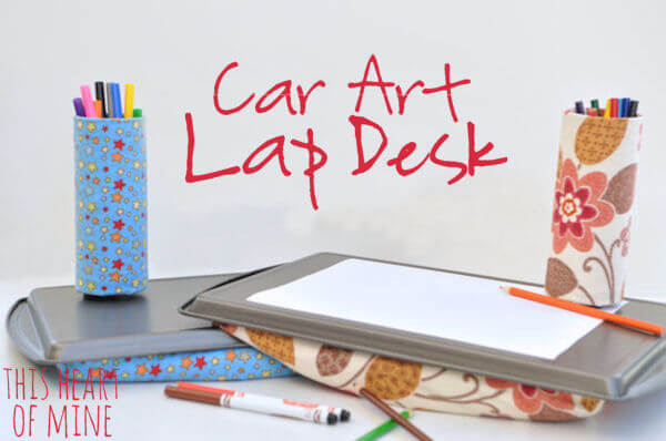 Car Art Lap Desk 1
