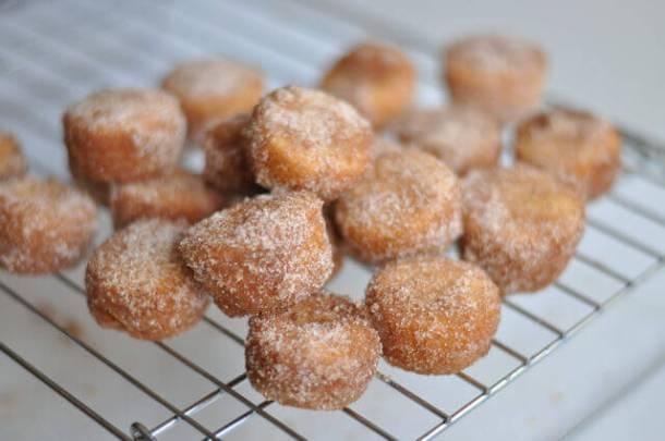Cinnamon-Sugar Doughnut Muffins 10