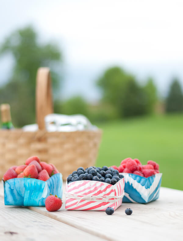 Paper Plate Berry Boxes 2