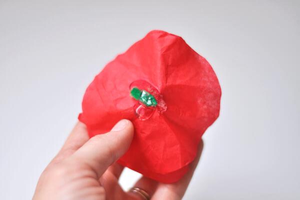 Tissue Flower Magnets 11